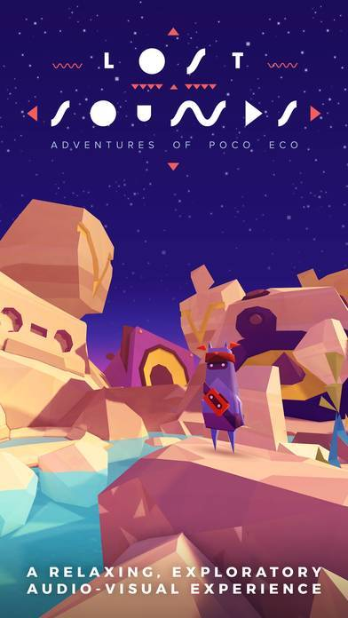 「Adventures of Poco Eco - Lost Sounds: Experience Music and Animation Art in an Indie Game」のスクリーンショット 1枚目