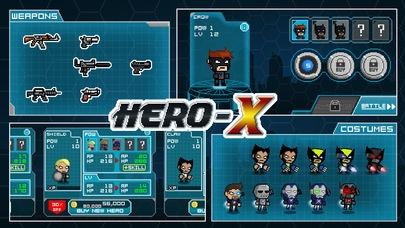 「HERO-X: ヒーローX」のスクリーンショット 3枚目