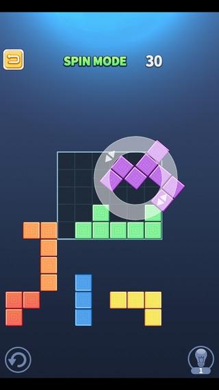 「ブロックパズルキング」のスクリーンショット 2枚目