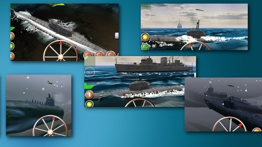 「ソナーエコー - 潜水艦海戦アクションゲーム」のスクリーンショット 3枚目