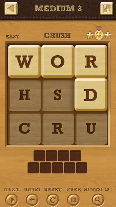 「Words Crush: Hidden Words!」のスクリーンショット 1枚目