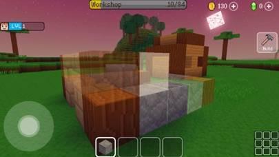 「街づくりシミュレーションゲーム Block Craft 3D」のスクリーンショット 2枚目