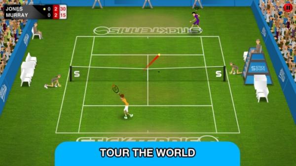「Stick Tennis Tour」のスクリーンショット 1枚目