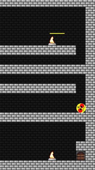 「迷宮迷路からの挑戦状 - 激ムズ謎のダンジョン脱出アクションゲーム」のスクリーンショット 2枚目