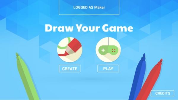 「Draw Your Game」のスクリーンショット 1枚目