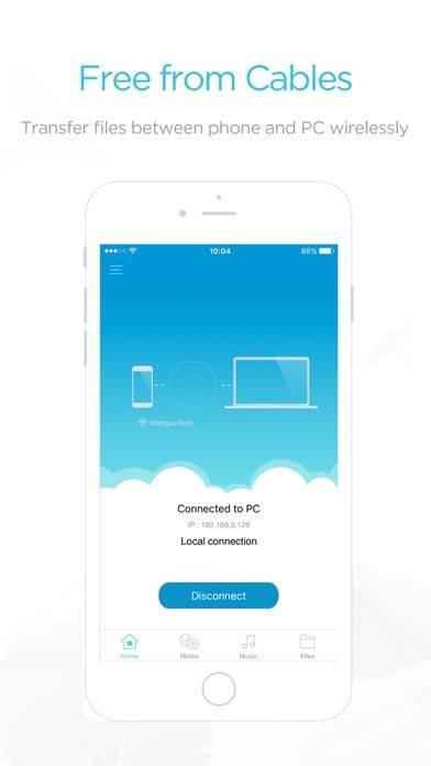 「AirMore - PCに接続」のスクリーンショット 2枚目