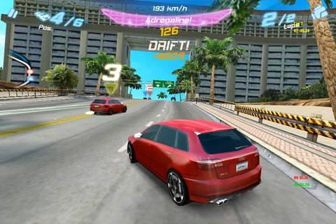 「アスファルト:Audi RS 3」のスクリーンショット 1枚目
