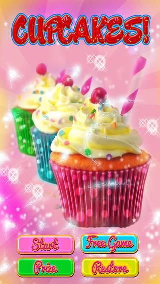 「カップケーキデザート - 少年少女のための楽しみの食糧ゲーム」のスクリーンショット 1枚目