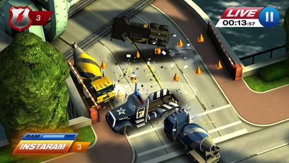 「Smash Cops Heat」のスクリーンショット 2枚目