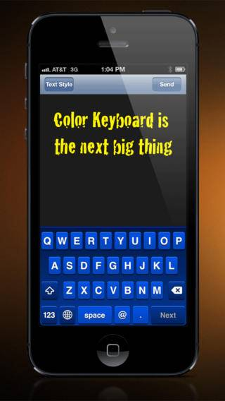 「Color Keyboard」のスクリーンショット 1枚目