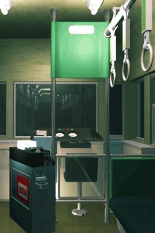 「脱出ゲーム: Closed Train -脱出ゲームアプリ」のスクリーンショット 2枚目
