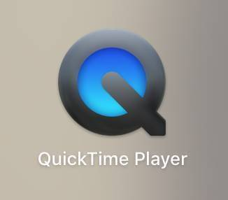 QuickTime Playerのアイコン