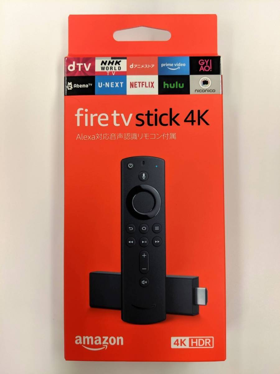Fire TV Stick 4Kの外箱