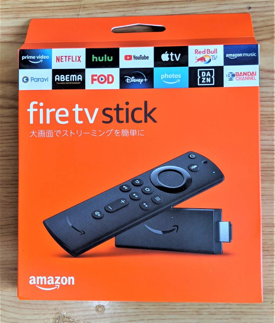 Fire TV Stickの外箱