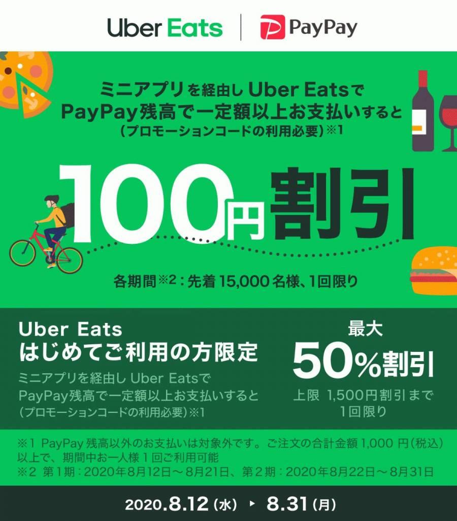 Uber Eats ミニアプリ