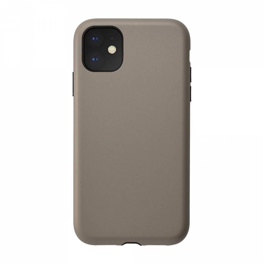 【2019 New iPhone 6.1 inch ケース】Smooth Touch Hybrid Case for 2019 New iPhone 6.1 inch (beige)