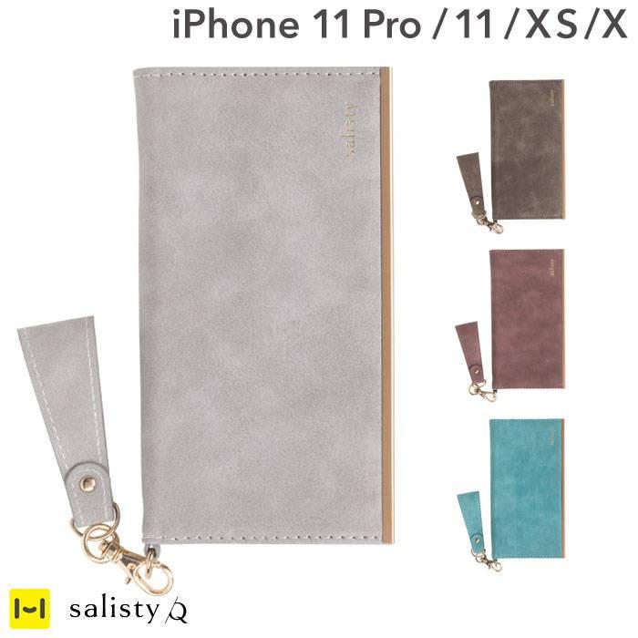 [iPhone 11 Pro/11]salisty(サリスティ)Q スエードスタイル ダイアリーケース