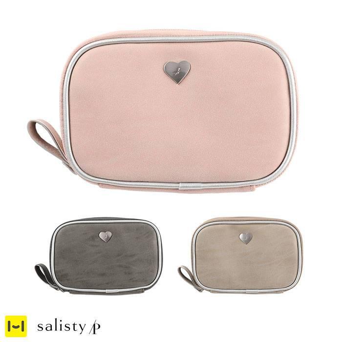 salisty(サリスティ)P シルバーハート ガジェットポーチ