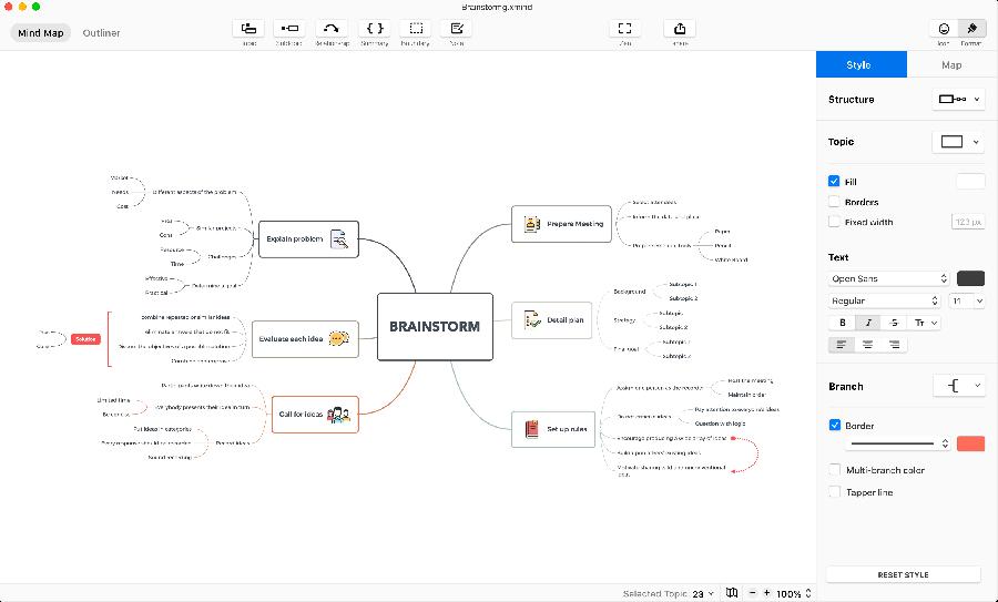 『Xmind』イメージ