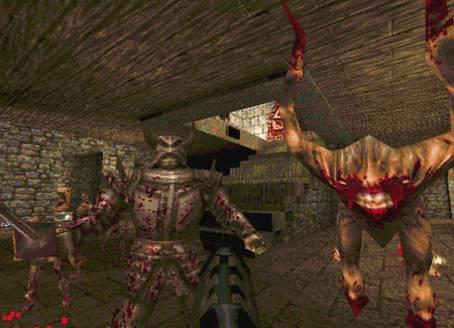 Quake ゲーム画面