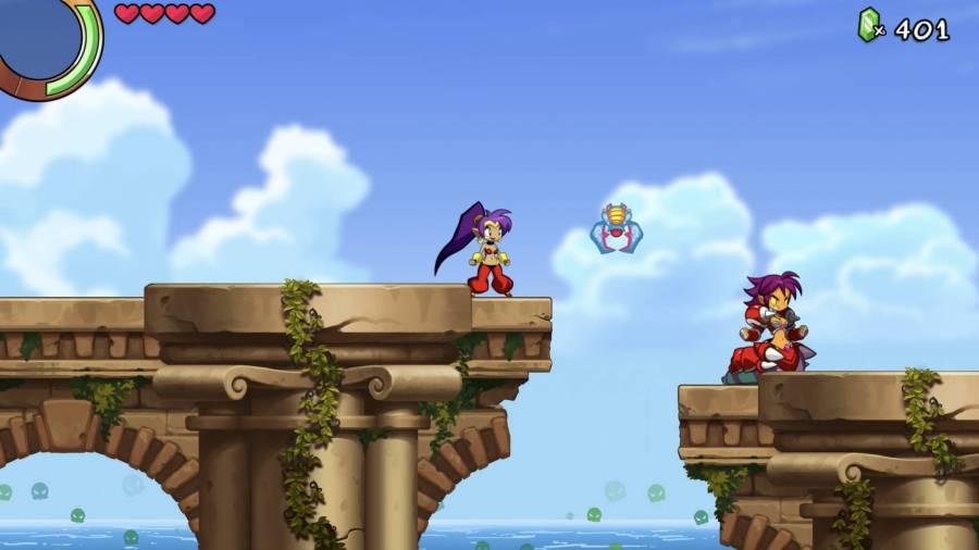 『Shantae and the Seven Sirens』プレイ画像