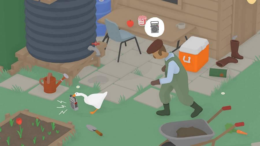 『Untitled Goose Game 〜いたずらガチョウがやって来た!〜』イメージ