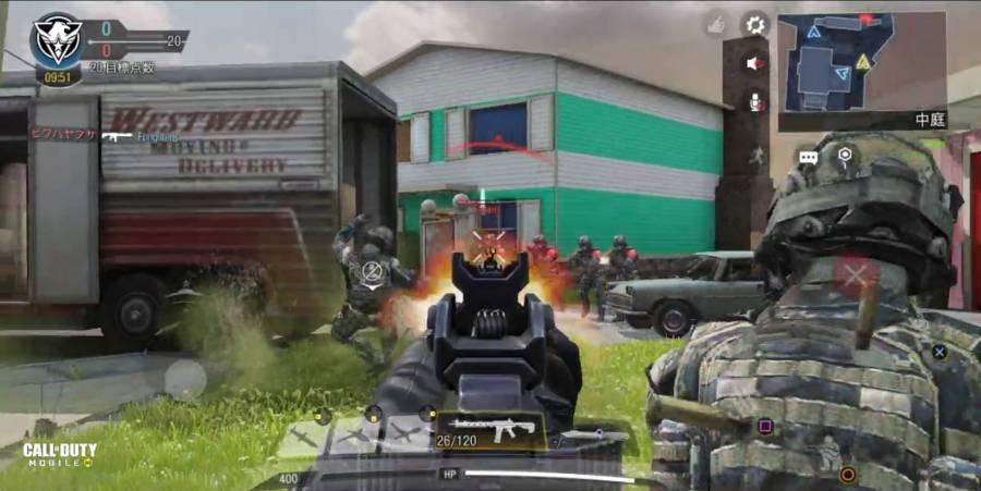 『Call of Duty®: Mobile』プレイ画像