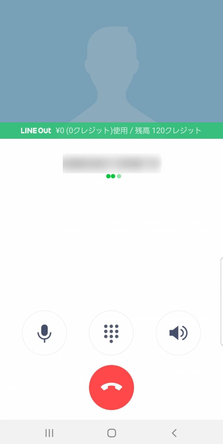 LINE Out発信