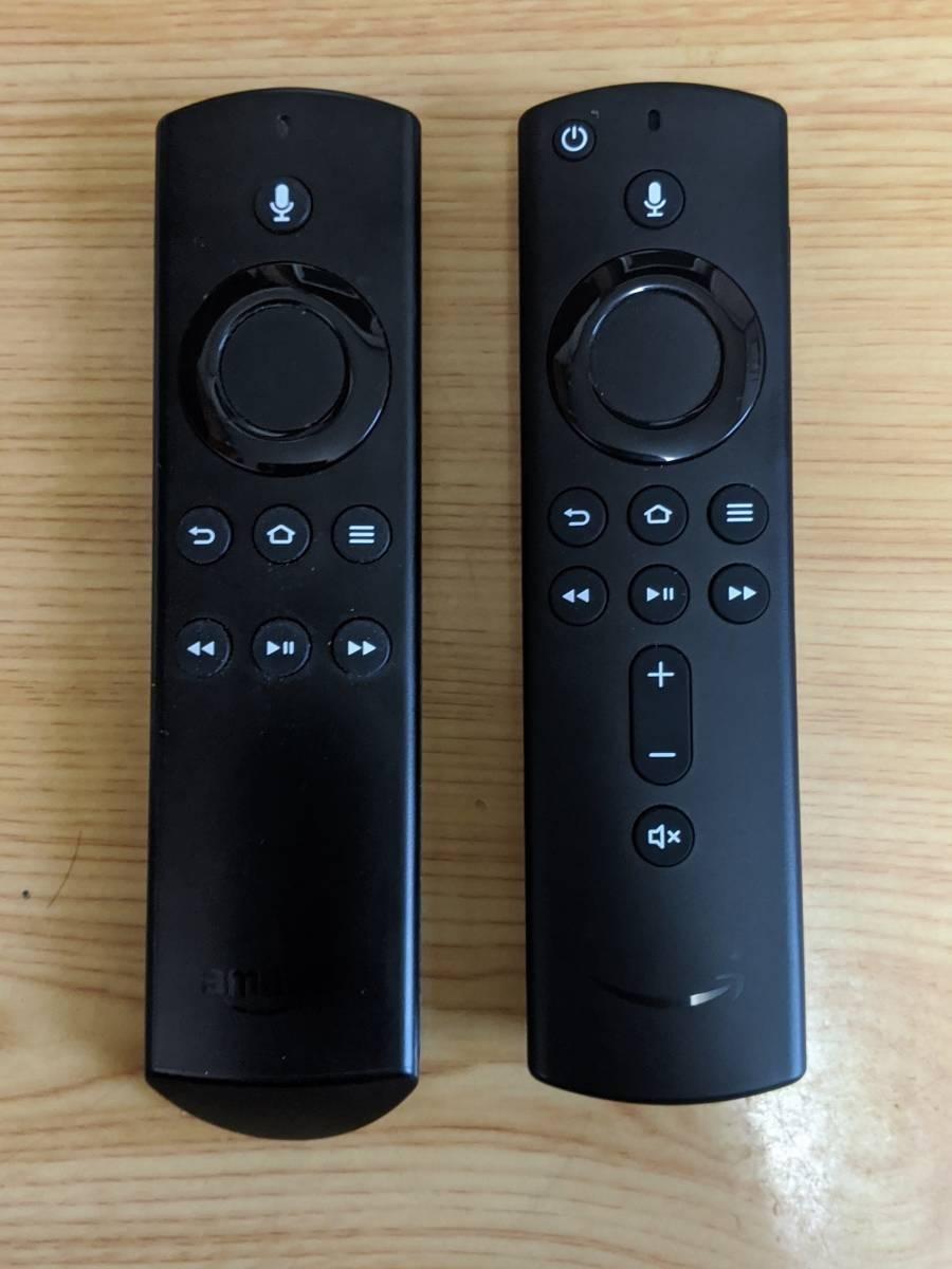 Alexa対応音声認識リモコン(第1世代)とAlexa対応音声認識リモコン(第2世代)