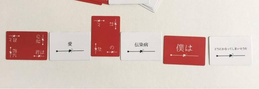 単語カードの配置イメージ