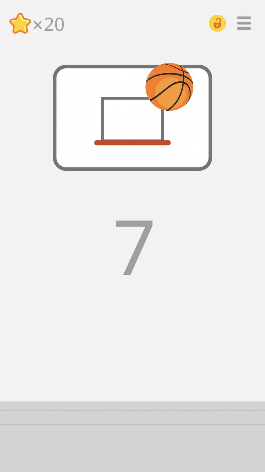 『Ketchapp Basketball』 画像