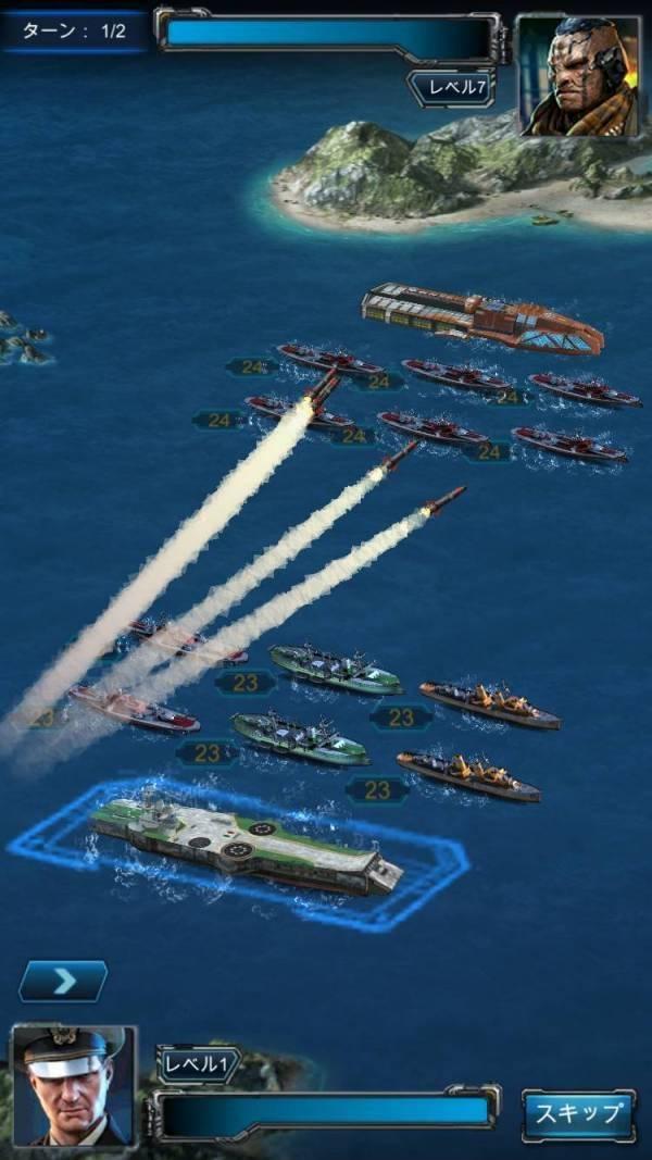 戦艦ファイナル プレイ画面