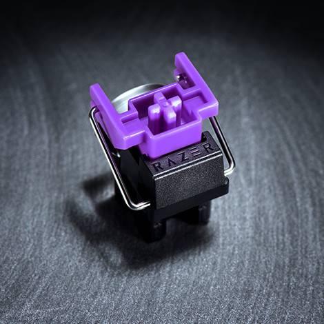 Razerの紫軸の画像